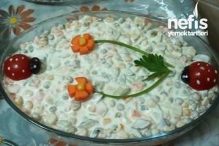Rus Salatasının Yapımı Tarifi