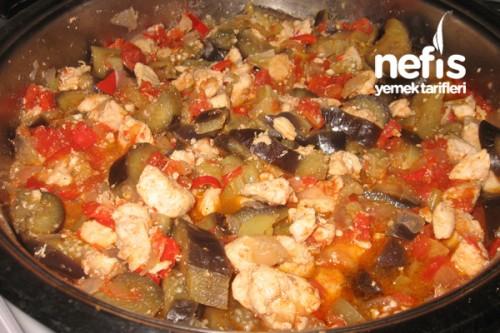 Tavuklu Patlıcanlı Yemekler Tavuklu Patlıcan Yemeği