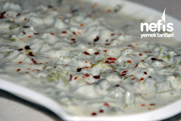 Yoğurtlu Taze Fasulye Salatası Tarifi