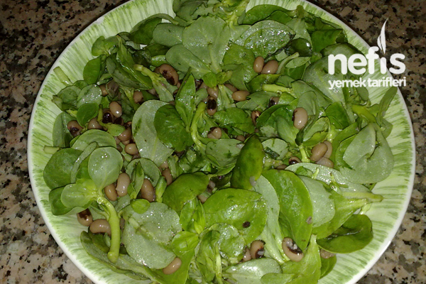 Börülceli Semizotu Salatası Tarifi