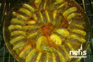 Fırında Patatesli Köftenin Yapımı Tarifi