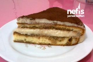 Hazır Kek ile Tiramisu Tarifi