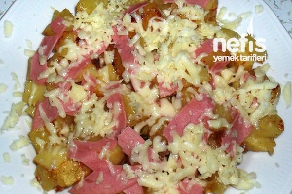 Kahvaltıda Patates Kavurma Tarifi