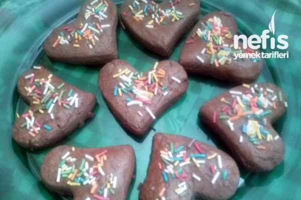 Kakaolu Süslü Kurabiyeler Tarifi