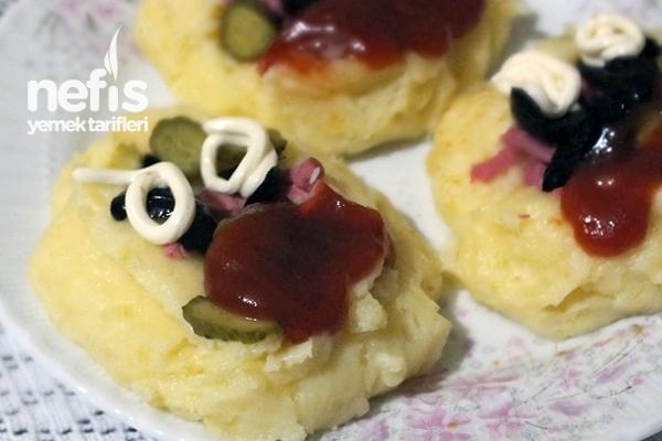 Kaşar Peynirli Patates Püresi Tarifi