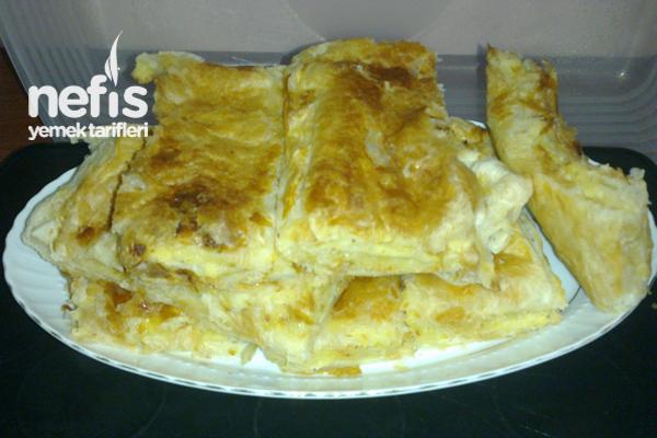 Milföylü Yufkalı Patatesli Börek Tarifi