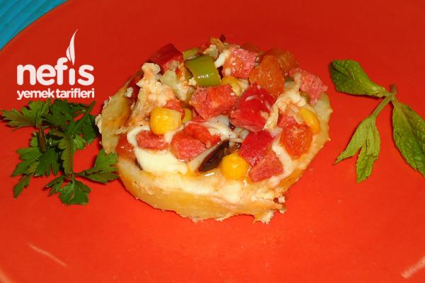 Minik Patates Pizzası Tarifi