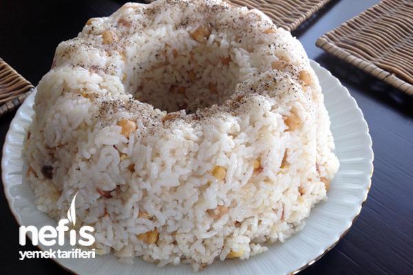 Nohutlu Pirinç Pilavı Yapımı Tarifi