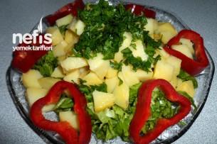 Patates Salatasının Yapılışı Tarifi