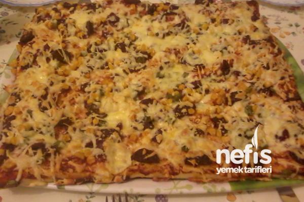 Pizza Yapılışı Tarifi
