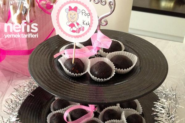 Çikolatalı Pop Kek 2