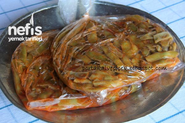 Derin Dondurucuda Taze Fasulye (Kavurma-Sarartma) Tarifi