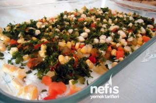 Etimek Salatası Yapılışı Tarifi