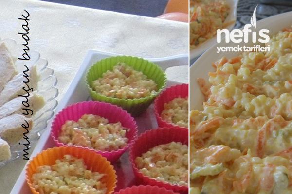Havuçlu Kuskus Salatası Tarifi 1