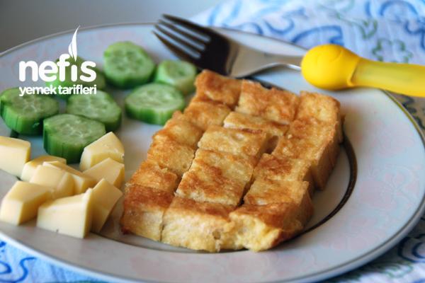 2-3 Yaş Kahvaltı Tabağı Tarifi