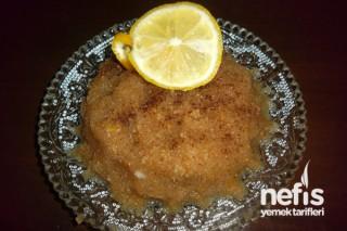Limonlu İrmik Helvası Tarifi
