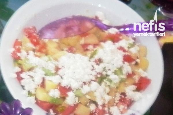 Lorlu Patates Salatası Tarifi
