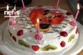 Meyveli Doğum Günü Pastası Tarifi