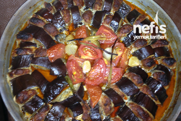 Patlıcan Kebabı Yapılışı Tarifi