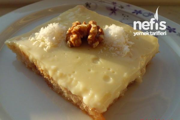 Pudingli pratik yaş pasta tarifi — Görsel Yemek Tarifleri ...