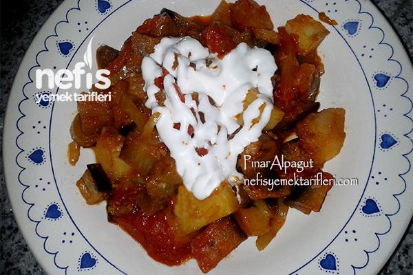 Etsiz Patlıcan Tava
