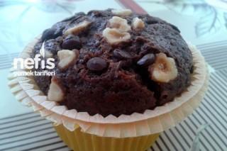 Fındıklı Damla Çikolatalı Muffin Tarifi