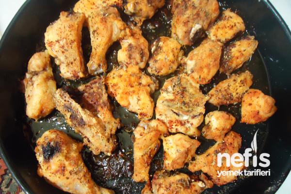 Fırında Mısır Unlu Tavuk Tarifi