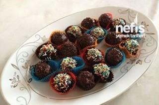 Hindistan Cevizli Çikolata Kaplı Truff Tarifi