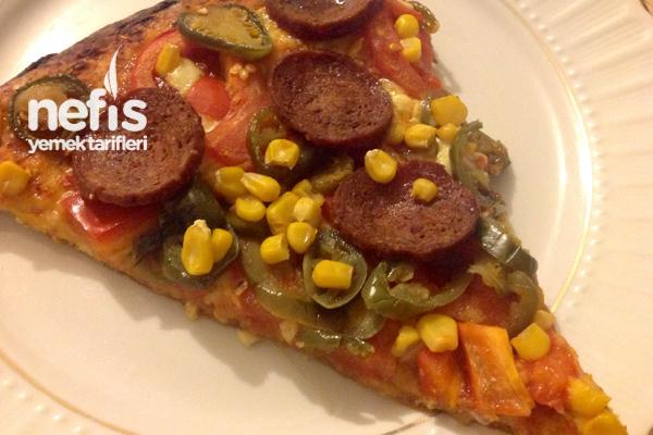Turşulu Ev Pizzası Tarifi