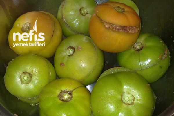 Yeşil Domates Dolması 1