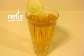 Zencefilli Tarçınlı Elma Suyu Tarifi
