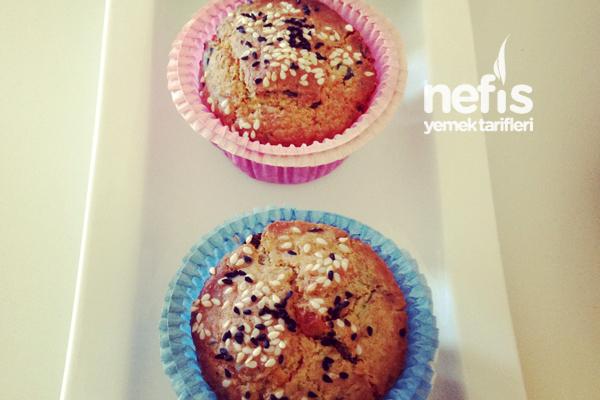 Zeytinli ve Kekikli Muffin Tarifi