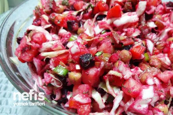 """Vinegret"" Salatası 1"