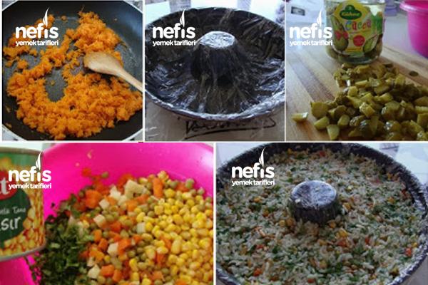 Çin Salatası (Pirinç Salatası) 2