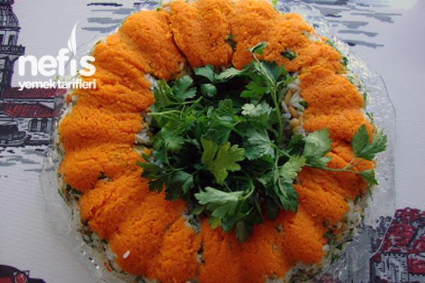 Çin Salatası (Pirinç Salatası) 3