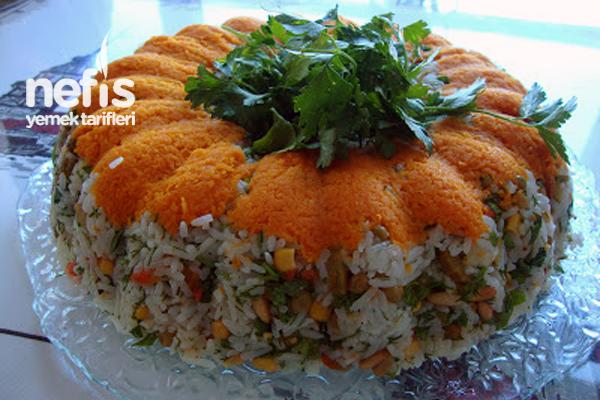 Çin Salatası (Pirinç Salatası) (videolu) Tarifi