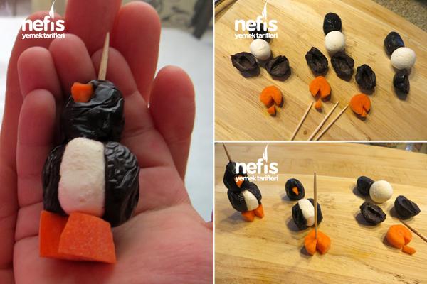 Çocuklara penguenli kahvaltı 1