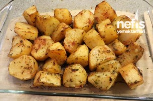 Fırında Baharatlı Patates Yapılışı Tarifi