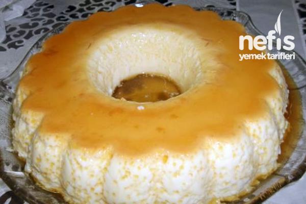 Fırında Kek Kalıbında Krem Karamel Tarifi