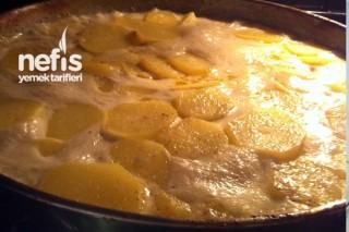 Fırında Kremalı Patates Yapımı Tarifi