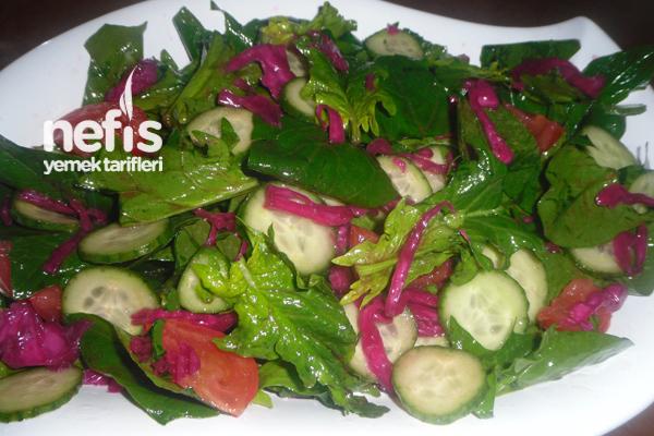 Ispanak Salatası Yapılışı Tarifi
