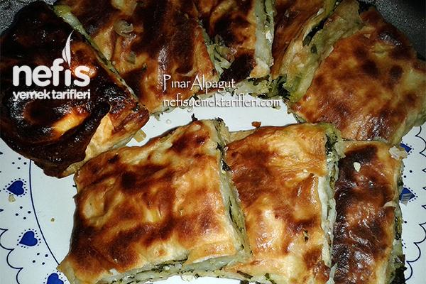 Ispanaklı Sodalı Börek 1