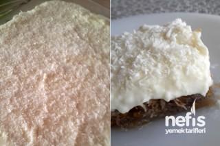 Kadayıflı Yaş Pasta Tarifi