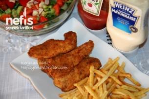 Nişastalı Baharatlı Çıtır Tavuk Tarifi
