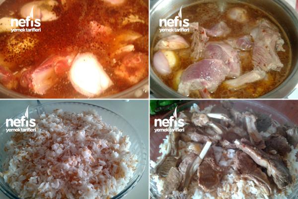 Pirzola Haşlama ve Pirinç Pilavı Yapımı 1