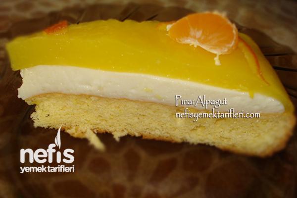 Portakallı Pasta Tarifi