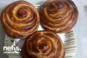 Tahinli Çörek Hazırlanışı Tarifi