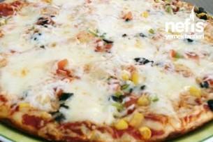 Tavada 16 Dakikada Pişen Pizza Tarifi