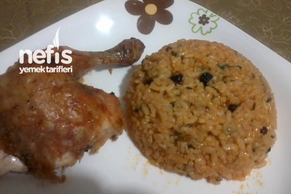 Tavuk Dolması ve İç Pilavı Tarifi