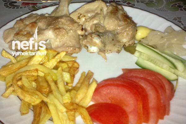 Tavuk ve Patates Kızartması Tarifi